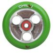 CHILLI Parabol 100 mm verde / plata de ricino