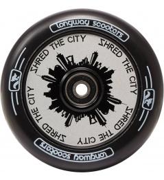 Rueda Longway Monocromo City 110mm blanco
