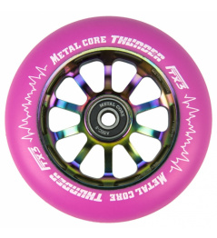 Metal Core Thunder Rainbow 110 mm redondo rosa