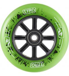 Rueda Longway Tyro Nylon Core 110mm verde