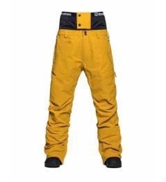 Pantalones Horsefeathers Charger amarillo dorado 2020/21 vell.XL