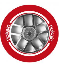 Rueda Nokaic Spoked 110mm Rojo