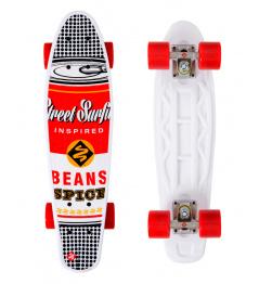 Skateboard Street Surfing POP BOARD Souper Black Dot