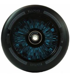 Lucky Lunar negro / azul de 110 mm de ricino