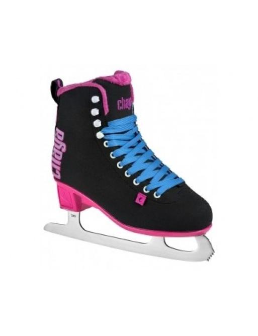 Patín sobre hielo Chaya Classic Black / Pink