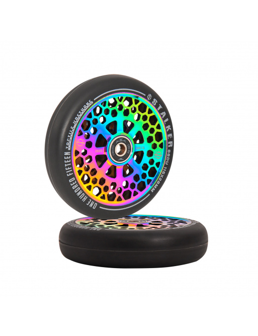 Juramento Stalker Wheels 115mm Neochrome 2pcs