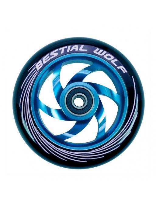 Rueda Bestial Wolf Twister 110mm azul