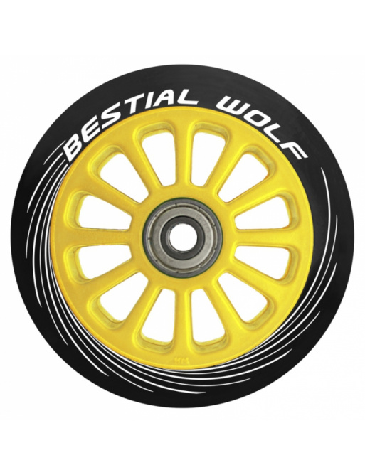 Bestial Wolf Pilot circle yellow