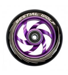 Rueda Bestial Wolf Twister 110mm violeta