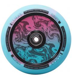 Rueda Lucky Lunar 120 mm Rush Pink / Blue Swirl
