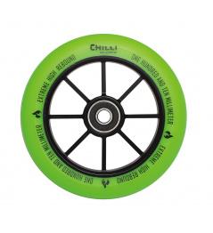 Rueda Chilli Base 110mm verde