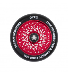 Rueda Slamm 110mm Gyro Hollow Core rojo