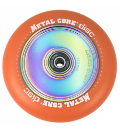 Metal Core Disco 110 mm naranja rueda