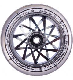 Wheel On A Scooter Striker Serie Zenue Transparente 110 mm Cromado