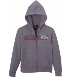 Sudadera Quiksilver Zib God 024 kpwh medium grey heather 2014/15 kids vell.XL / 14 años /