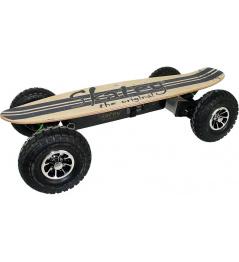 Skatey 900 Electric Longboard Off-road jeans de madera