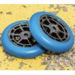 Ruedas UrbanArtt Civic 110x24mm Negro / Arctic Blue 2pcs