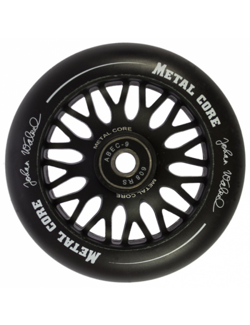 Modelo Metal Core PRO Johan Walzel Rueda negra de 100 mm