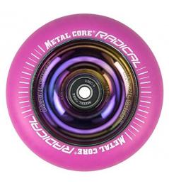 Núcleo metálico Radical Rainbow 110 mm círculo rosa
