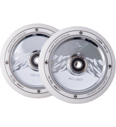 Kolečka Striker Benj No Limit 110mm White/Chrome 2ks