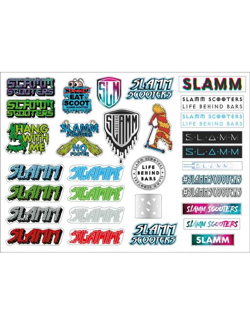 Samolepky Slamm A3