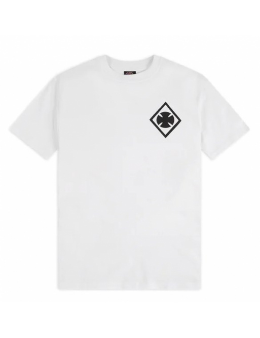 Triko Independent Ripped white 2020 vell.M