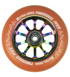 Metal Core Thunder Rainbow 110 mm naranja redonda