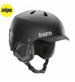 Casco Bern Watts Mips negro mate 2020/21 vell.L 59-62cm