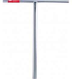 Manillar rígido inclinable para scooter (plateado)