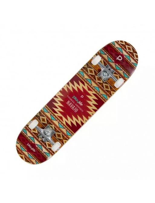 "Skateboard Playlife Tribal Navajo 31x8"""