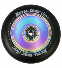 Metal Core Disco 110 mm black wheel