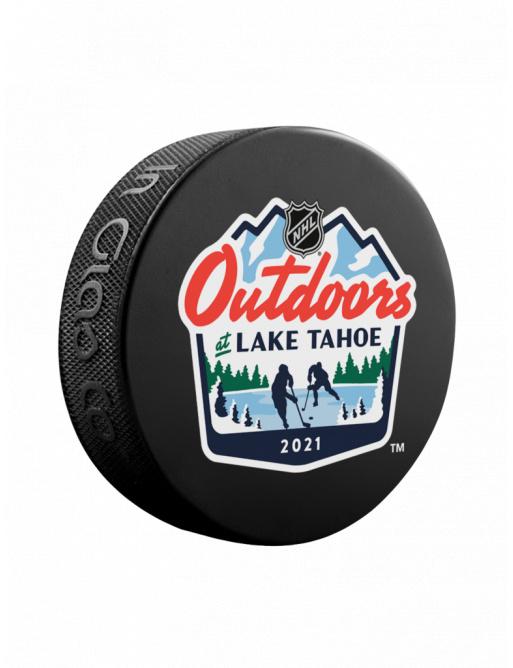 Fanouškovský puk NHL Lake Tahoe Generic Blister (1ks)