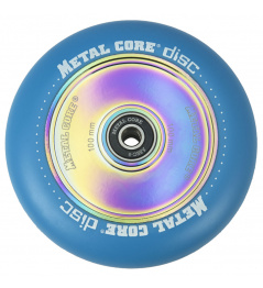 Metal Core Disco 100 mm azul rueda