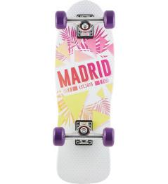 "Longboard Madrid Oasis Cruiser 8.25 ""blanco"