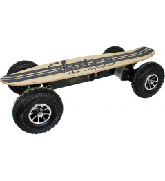 Skatey 900 Electric Longboard Off-road jeans de madera