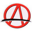 Etiqueta Engomada Del Logotipo De Apex