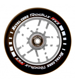 Rueda Metal Core Radius 120mm Wheel Silver