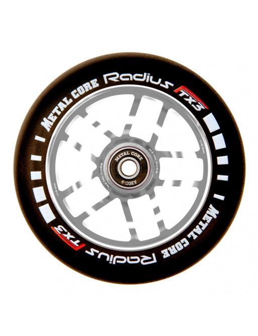 Rueda Metal Core Radius 120mm Wheel Silver