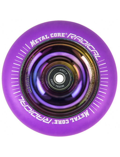 Metal Core Radical Rainbow 110 mm circle purple