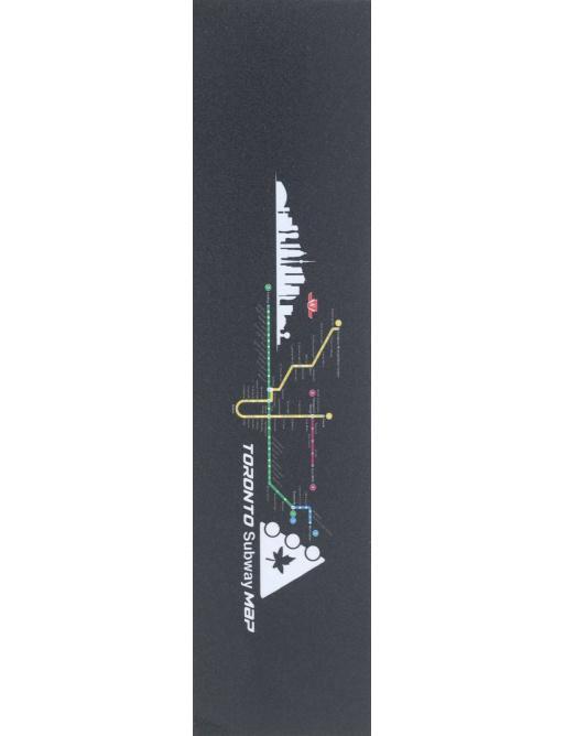 Mapa del metro Griptape Trynyty Toronto