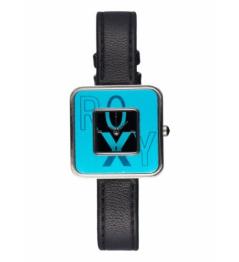 Reloj Roxy Infinite negro / negro / azul-combo 2014/15 mujer
