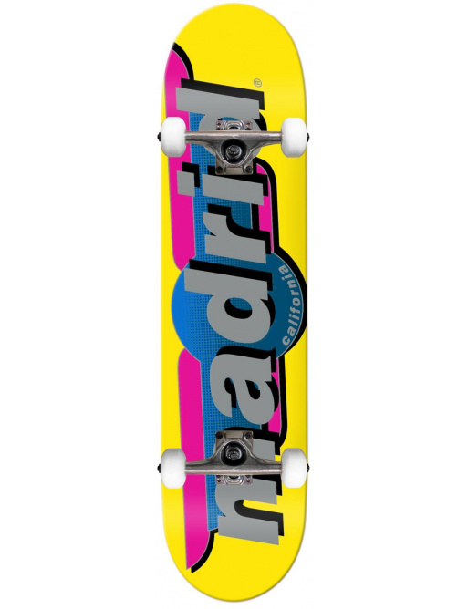 "Madrid Complete Skateboard (7.75""   Žlutá)"
