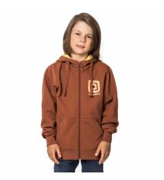 Mikina Horsefeathers Mini Logo copper 2019 dětská vell.XL