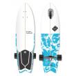 """Longboard Street Surfing SHARK ATTACK 36"""" Psycho Blue"""