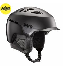 Casco Bern Heist Brim Mips negro mate 2020/21 tamaño.M 55.5-59cm