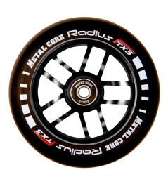 Rueda Metal Core Radius 120mm Wheel Black