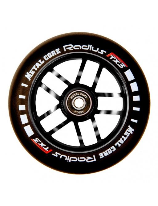 Rueda Metal Core Radius 120mm Wheel Black