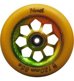Rueda North Pentagon 120mm Gum / Rasta