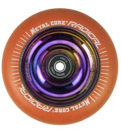 Núcleo metálico Radical Rainbow 110 mm naranja rueda