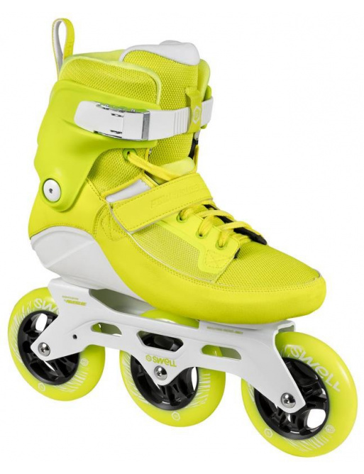 Powerslide Swell patines en línea Yellow Flash 110